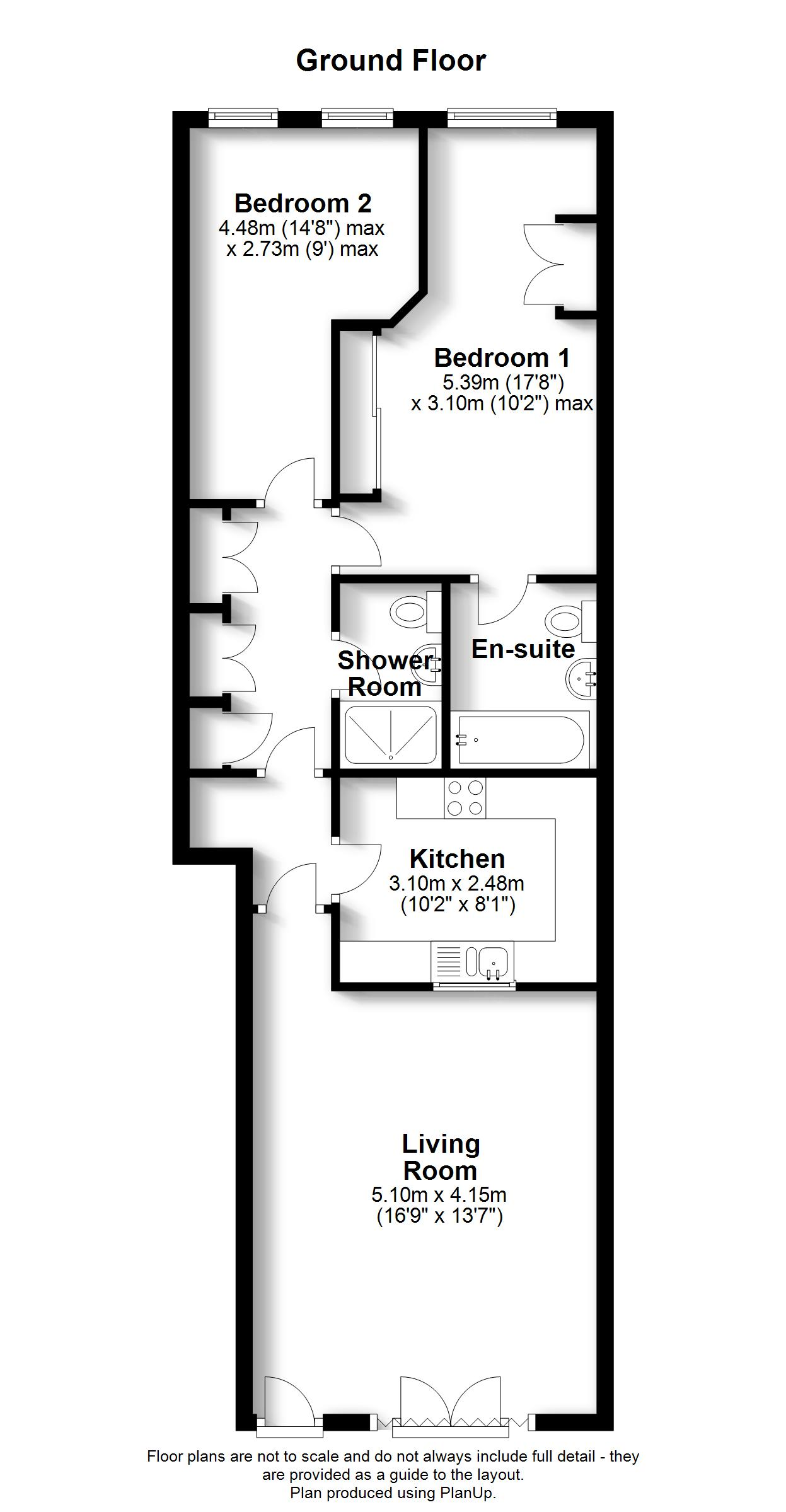 Floorplans For The Alders, West Wickham