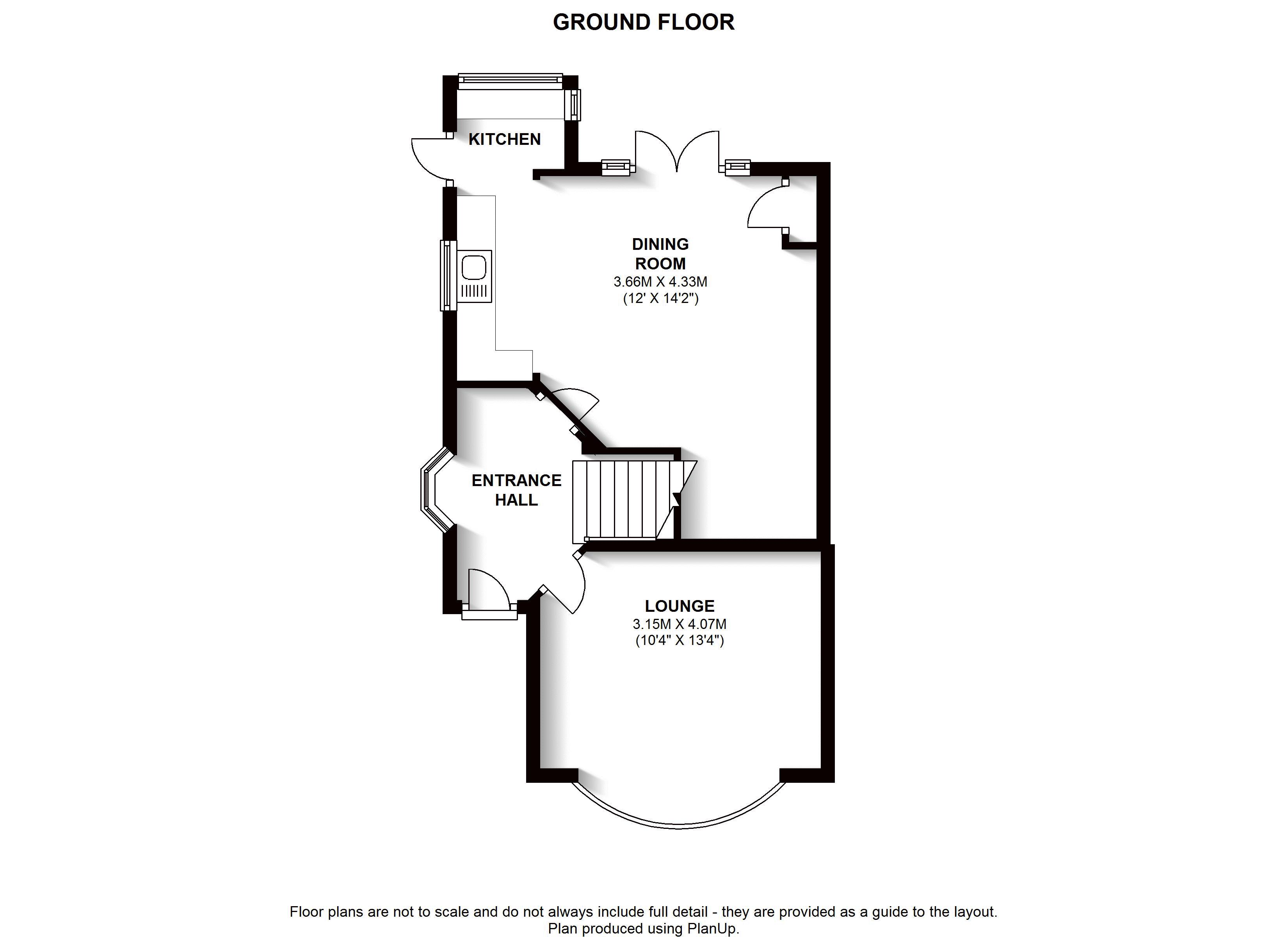 Floorplans For Brich Tree Avenue, West Wickham