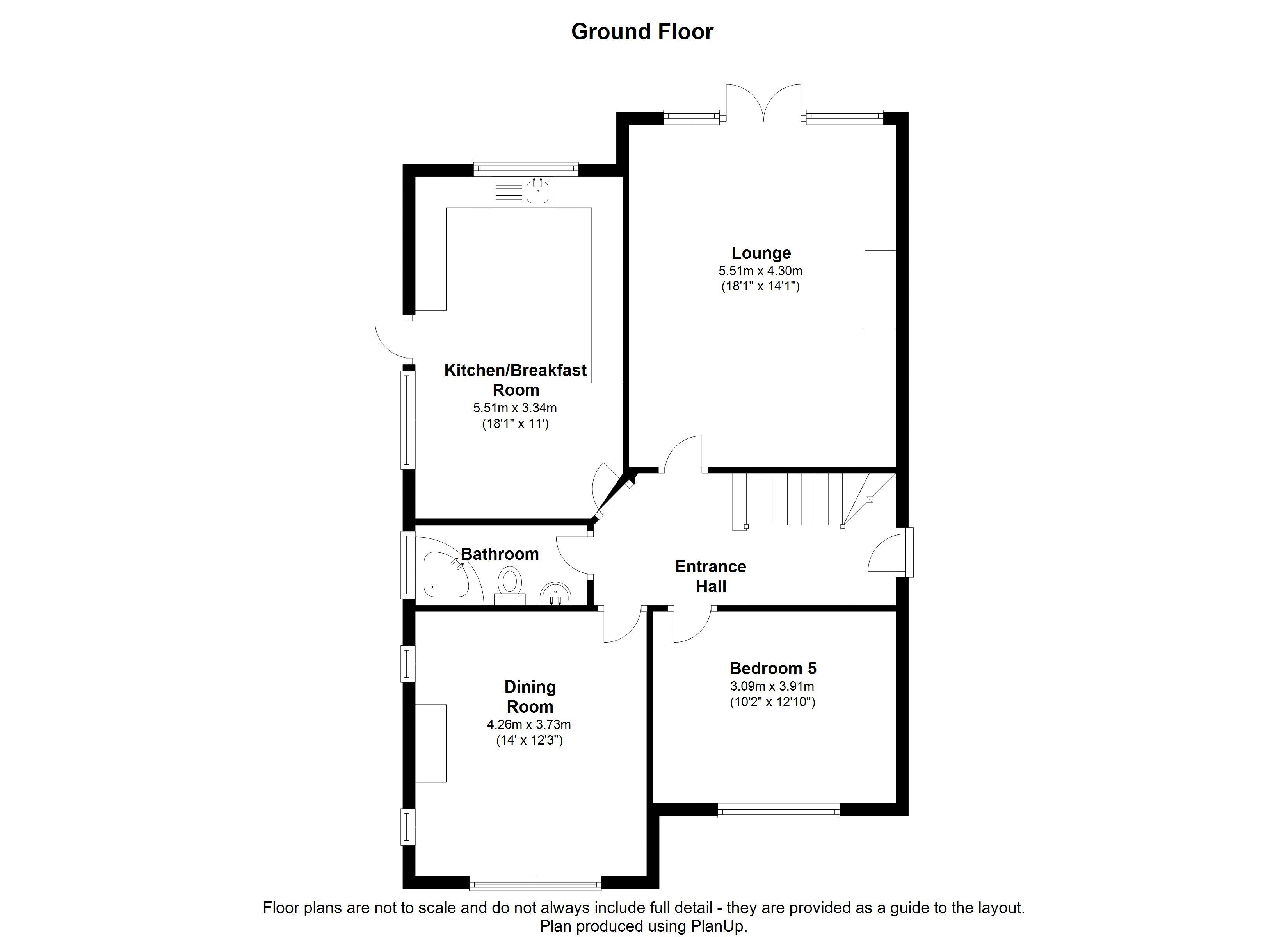 Floorplans For Grosvenor Road, West Wickham