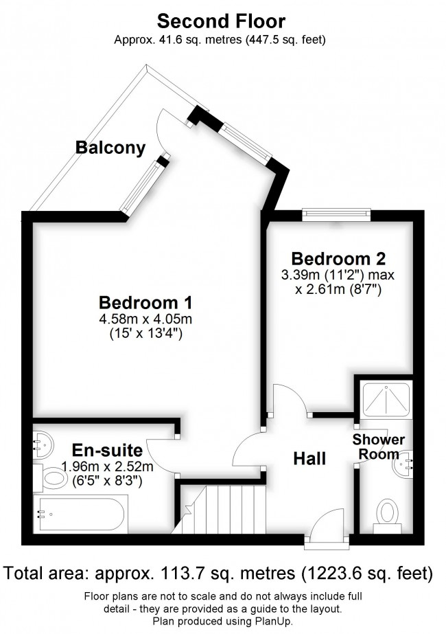 Floorplan for Bromley