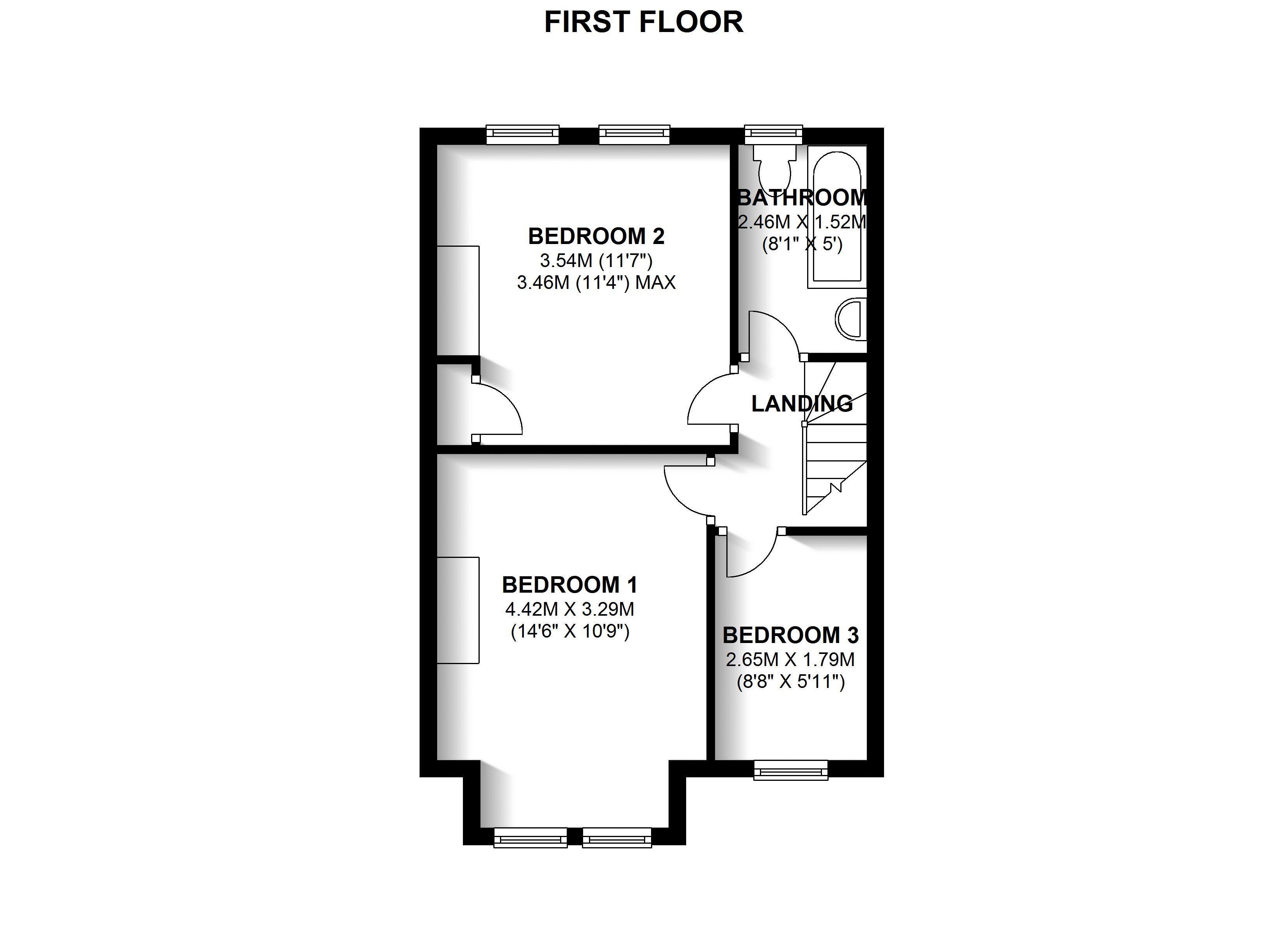 Floorplans For Pelham Road, Beckenham