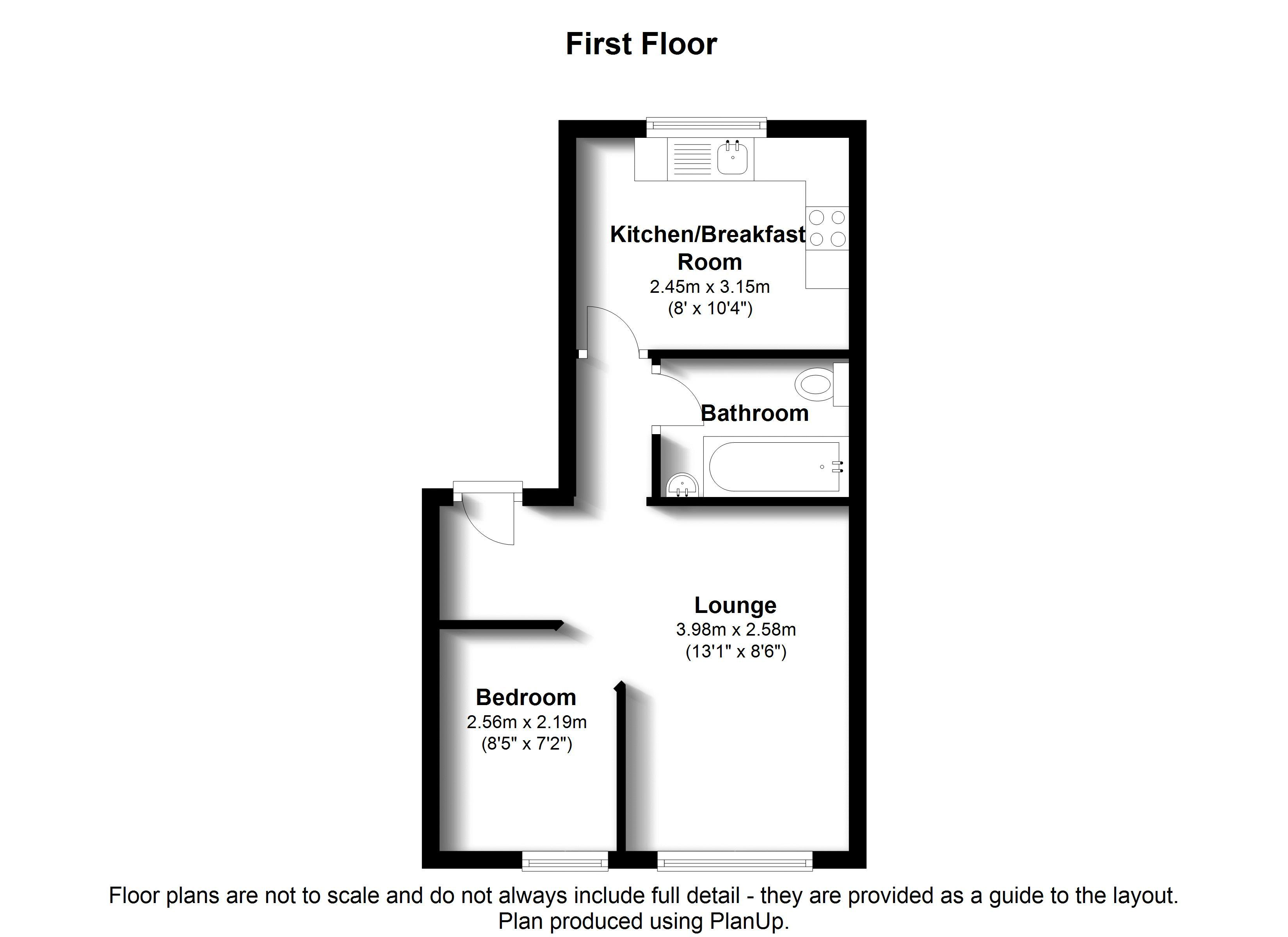 Floorplans For Churchfields Road. Beckenham