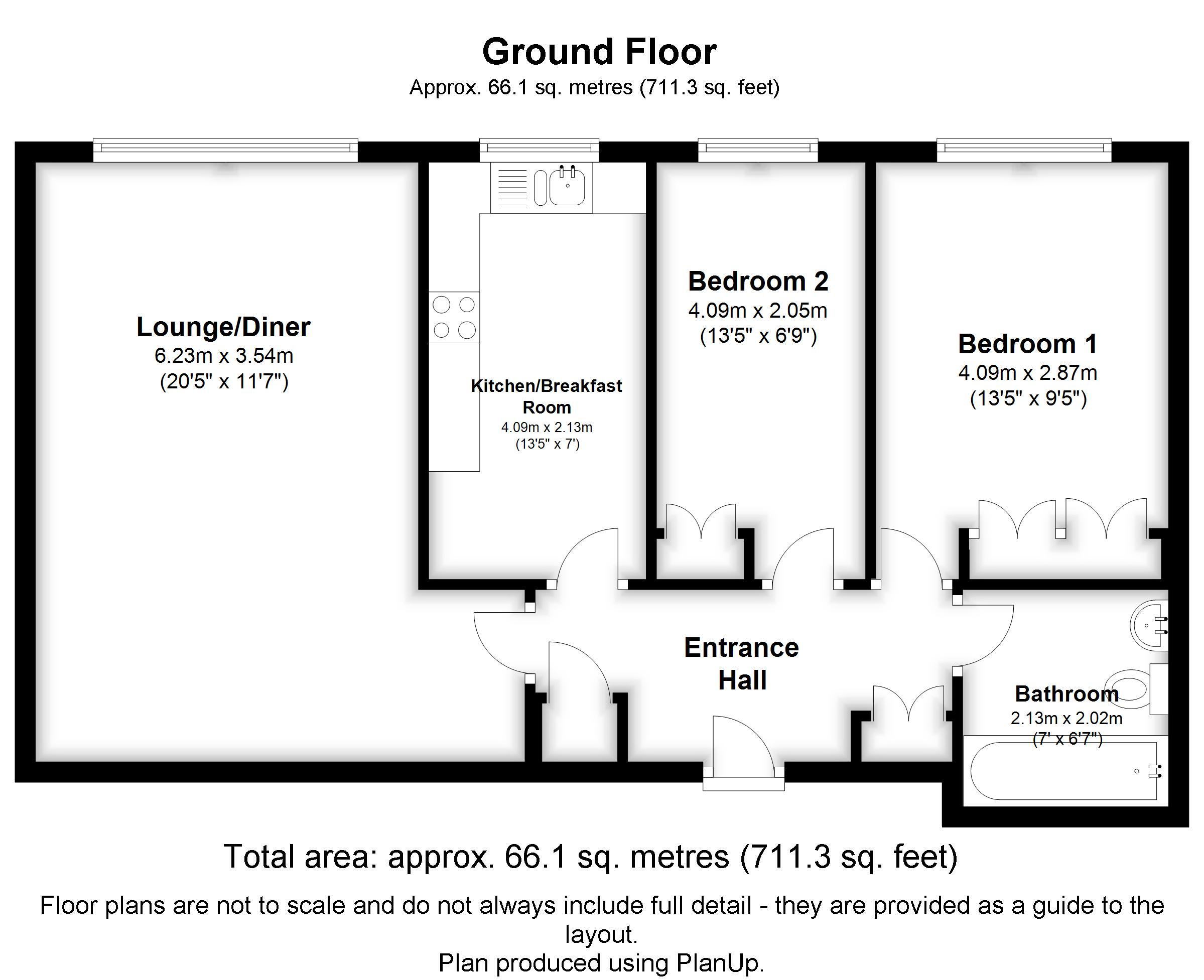 Floorplans For Whitehaven Close, Bromley