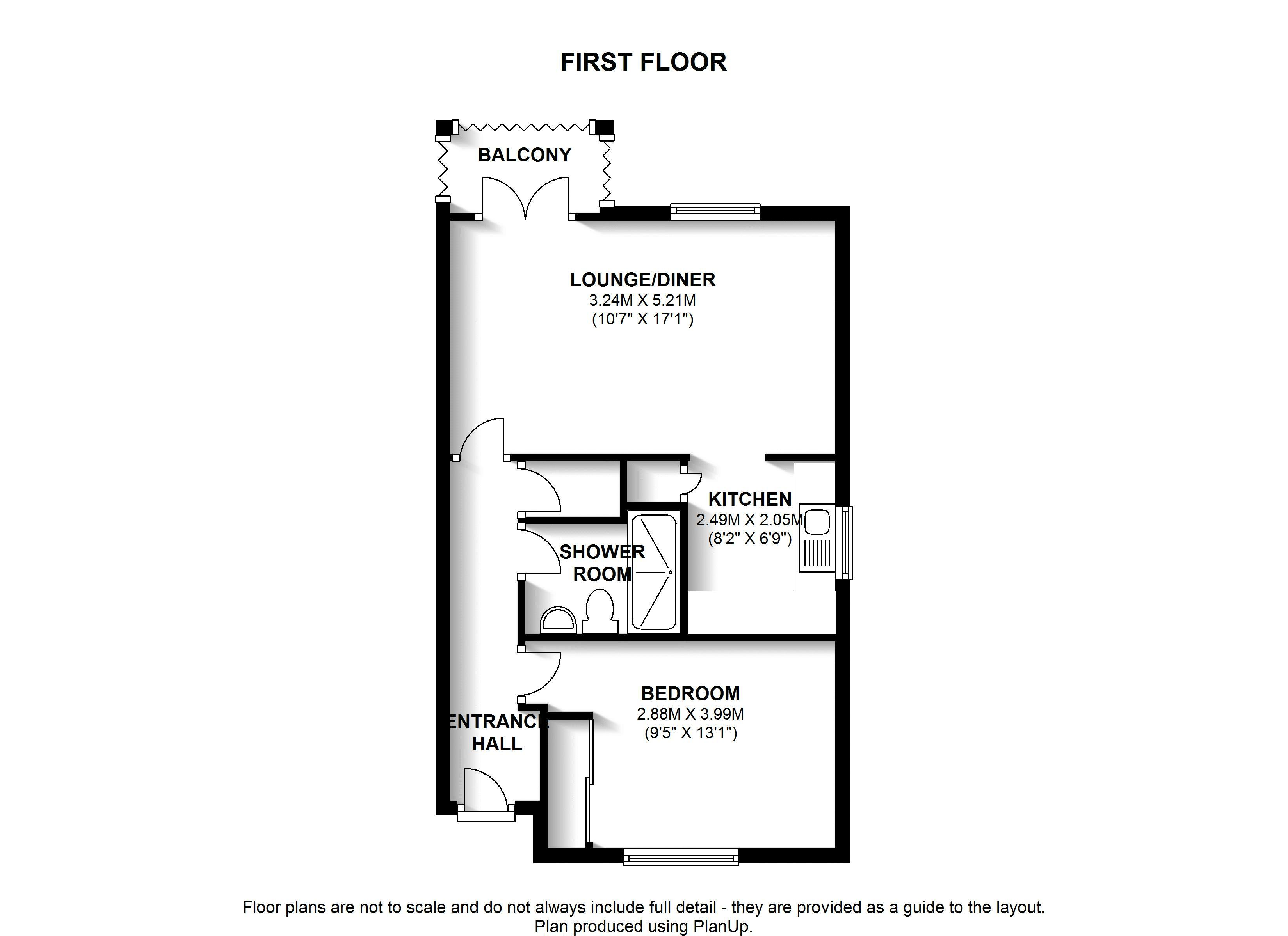 Floorplans For Alderbrook Court, West Wickham