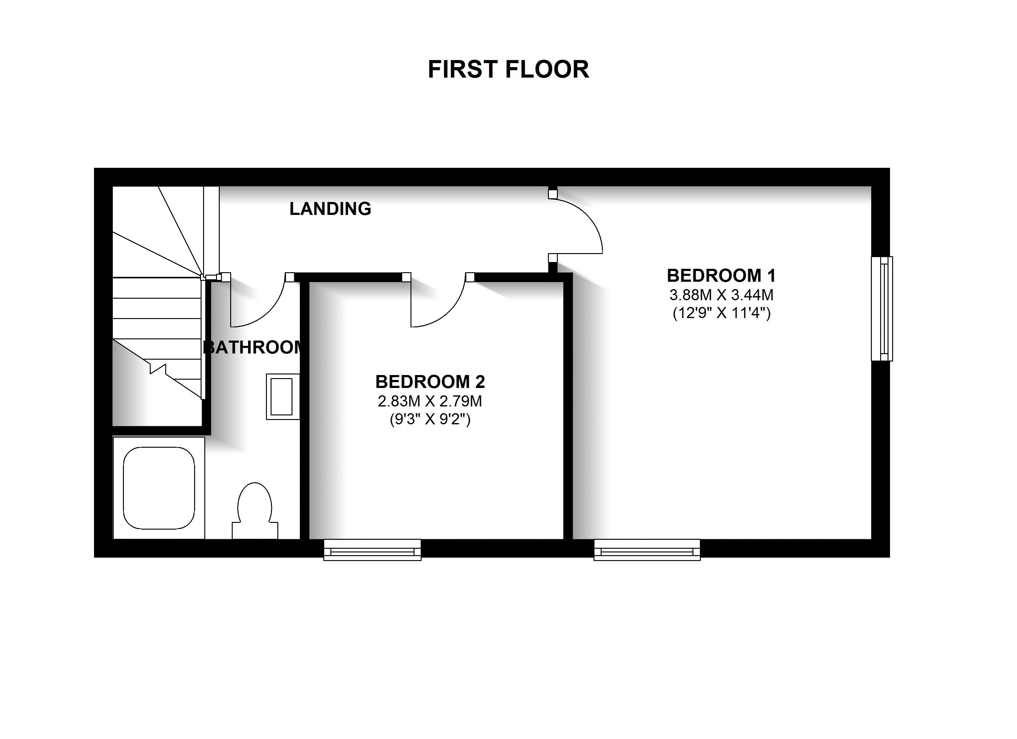 Floorplans For West Way Gardens, Shirley