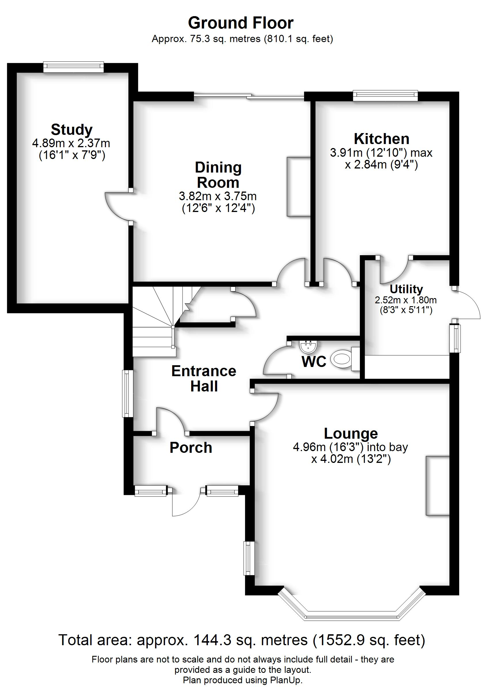 Floorplans For Addington Road, West Wickham